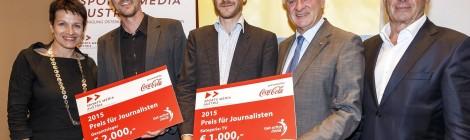 """Sportjournalisten-Preis 2015 für """"Das letzte Spiel"""""""